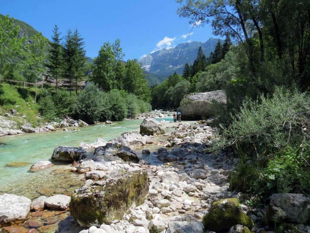 Upper Soca Slovenia Fly Fishing